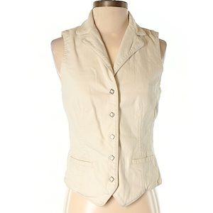 LAUREN JEANS COMPANY Women's Vest Large Ralph